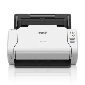 Скенер Brother ADS-2200, 1200 x 1200 dpi, A4, двустранно сканиране, 35 стр./мин, ADF, USB 2.0 image