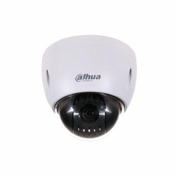 IP камера Dahua SD42212T-HN-S2 , управляема PTZ (pan/tilt/zoom) камера, 2MPix(1920×1080@25fps), 5.3mm/64mm обектив, H.265+/H.265/H.264+/H.264, външна IP66, IK10, PoE, RJ-45, аудио G.711a/G.711Mu/G.726/AAC image
