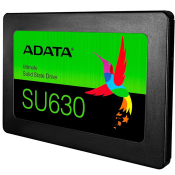 """Памет SSD 480GB Adata SU630, SATA 6 Gb/s, 2.5"""" (6.35cm), скорост на четене 520 MB/s, скорост на запис 450 MB/s image"""
