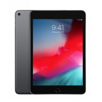 """Таблет Apple iPad Mini 5 (MUX52HC/A)(сив), LTE, 7.9"""" (20.07 cm), осемядрен Apple A12 Bionic, 3GB RAM, 64GB Flash памет, 8.0 & 7.0 MPix камера, iOS, 300g image"""