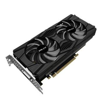 Видео карта Nvidia GeForce RTX 2060, 8GB, PNY GeForce RTX 2060 SUPER TWIN FAN, PCI-E 3.0, GDDR6, 256bit, DisplayPort, HDMI, DVI image