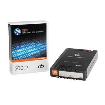 Aрхивиращo устройствo HP RDX 500GB Removable Disk Cartridge, 1TB, 5400 rpm image