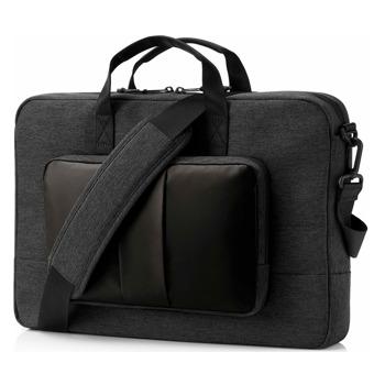 "Чанта за лаптоп HP 1G6D5AA, до 15.6"" (39.62 cm), полиестер, черна image"