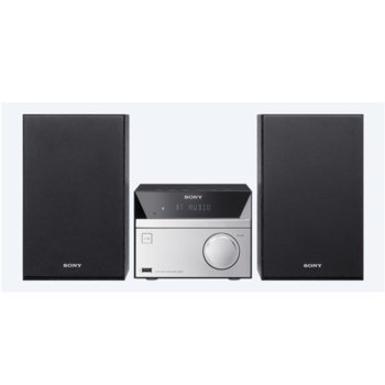 Мини аудио система Sony CMT-SBT20, 12W, CD, USB, MP3, Bluetooth, FM, image