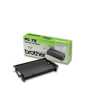 ТТ ЛЕНТА ЗА BROTHER FAX T72/74/76/78/T7+/T92/94/96/98/102 - Cartridge + refill PC-74RF - P№PC-70 image
