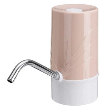 Електрическа помпа за вода SAPIR SP 2013 C Brown, за диспенсър за вода, презареждаема с USB, за бутилки до макс. 11л., кафява image
