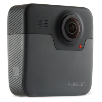 Екшън камера GoPro Fusion, камера за екстремен спорт, 5.2K@30, microSD слот, USB (Type-С), Wi-Fi, Bluetooth, GPS, гласов контрол image