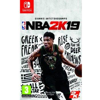 Игра за конзола NBA 2K19, за Nintendo Switch image