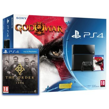 Sony PS4 God of War III/The Order: 1886 product