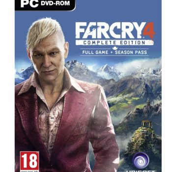Игра Far Cry 4 Complete Edition, DLC : The Syringe, Escape from Durgesh Prison, The Hurk Deluxe Pack, Overrun, Valley of the Yetis; за PC image