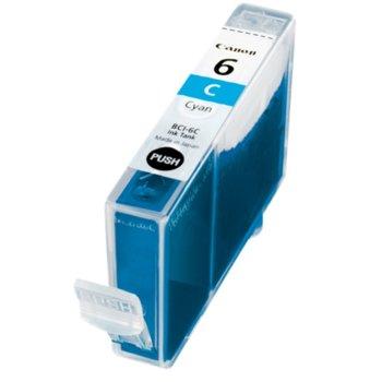 Глава за Canon BJC, Pixma printers - BCI-6C - Cyan - заб.:280k image
