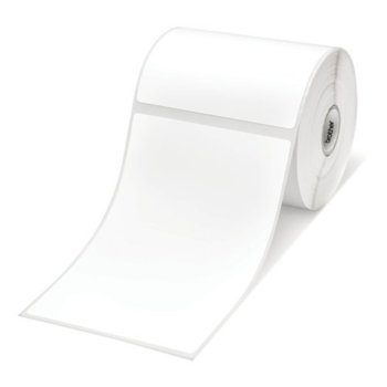 Лента за етикен принтер G&G RL-BR TZ221, черно върху бяло, 9mm x 8m image