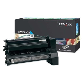 КАСЕТА ЗА LEXMARK C782 - Cyan - Extra High Yield - product