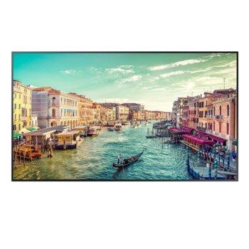 "Публичен дисплей Samsung LH75QMREBGCXEN, 75"" (190.5 cm) 4K UHD Edge LED BLU, Display Port, HDMI, DVI-D image"