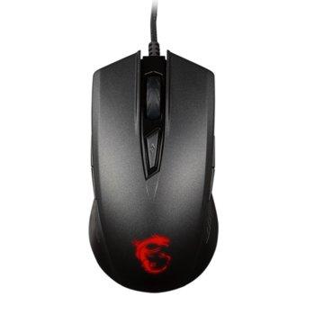Мишка MSI Clutch GM40, оптична(5000 dpi), черна image