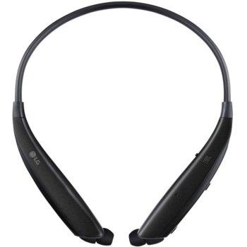 Слушалки LG HBS-835, безжични, Bluetooth 5.0, до 15 часа, микрофон, черни image