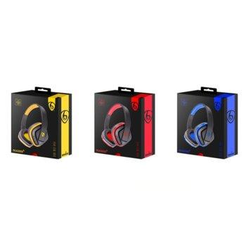 Слушалки Ovleng MX222, безжични, микрофон, SD, FM, Различни цветове image