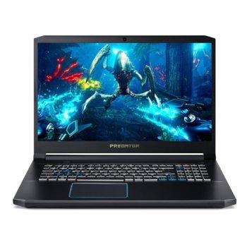 "Лаптоп Acer Predator Helios 300 PH317-53-73MU (NH.Q5QEX.01J), шестядрен Coffee Lake Intel Core i7-9750H 2.6/4.5 GHz, 17.3"" (43.94 cm) Full HD IPS 144Hz Display & RTX 2060 6GB, (mDP), 16GB DDR4, 1TB SSD, 1x USB 3.1 Type C, Windows 10 Home  image"