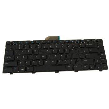 Клавиатура за лаптоп Dell, съвместима със серия Inspiron 3421 5421 Latitude 3440, US/UK, с кирилица image
