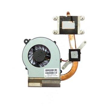 Вентилатор за лаптоп HP съвместим с Compaq Presario CQ42, CQ62, HP G42, G62, G72, (за модели с Intel) image