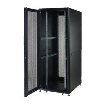 "Комуникационен шкаф Security Professionals MR.GTS42U81.01_BK, 19"", 42U, 800 x 1000 x 2028, свободностоящ, товароносимост 2000кг, вентилационни отвори, черен image"