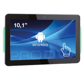 """All in One компютър ProDVX APPC-10DSKPL, четириядрен Cortex A17 1.6 GHz, 10.1"""" (25.65 cm) WXGA LED Capacitive Multi Touch Display & MALI T764, 2GB DDR3, 8GB Flash ROM, USB 2.0, Android 6.0 image"""