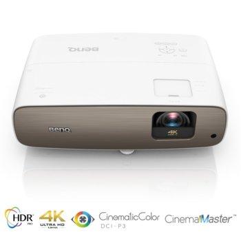 Проектор BenQ W2700, DLP, 4K/UHD (3840x2160), 30 000:1, 2000 lm, 2x HDMI, 2x USB Type A, 1x Audio out image