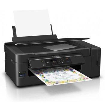 Мултифункционално мастиленоструйно устройство Epson L3070, цветен принтер/копир/скенер, 5760 x 1440 dpi, 10 стр/мин, USB, Card Reader, Wi-Fi, A4 image