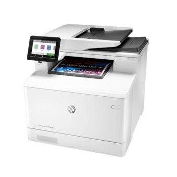 Мултифункционално лазерно устройство HP Color LaserJet Pro M479fnw, цветен принтер/копир/скенер/факс, 600 x 600 dpi, 27 стр./мин, LAN, Wi-Fi, USB, A4 image