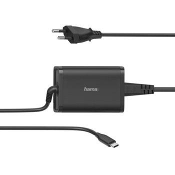 Захранване (заместител) за лаптопи HAMA, вх. 100-240 V, изх. 5-20 V, 65W image