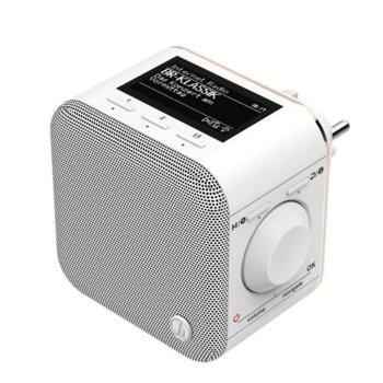 Интернет радио Hama IR40MBT-PlugIn, 3W, Bluetooth, бяло image