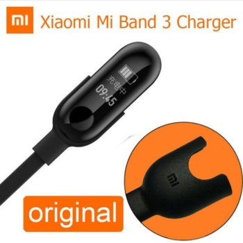 Зарядно устройство Xiaomi, оригинално, за Mi Band 3, черно image
