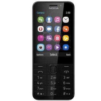 "GSM NOKIA 230 (сребрист), 2.8"" (7.11 cm), 16MB RAM, (+microSD слот), 2.0 Mpix camera, Software release: Series 30+, 91.8g. image"