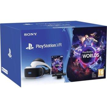 Sony PlayStation VR + PlayStation Camera VR Worlds product