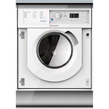 Пералня Indesit BI WMIL 71252 EU, клас A++, 9 кг. капацитет на пералня, 1200 оборота, свободностояща, за вграждане, 60cm. ширина, 9 програми, бяла image