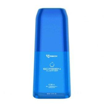 Спрей за почистване SBOX CS-11BL, за всички видове дисплеи, микрофибърна кърпа, антистатичен, боровинка, 100мл image