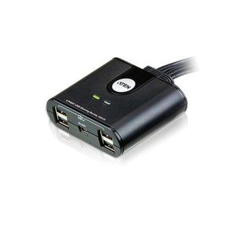 KVMP суич Aten US424, от 4x USB Type A (м) към 4x USB Type A (ж) image