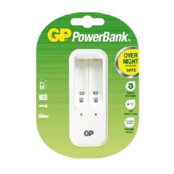 Зарядно устройство GP batteries GPPB420GS, без батерии, NiMH, NiCd, с 4 гнезда АА/ААА image
