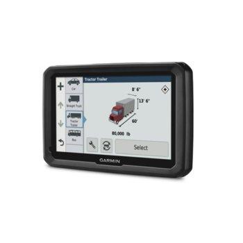 """Навигация за автомобил Garmin dēzl 580 LMT-D, 5.0""""(12.70 cm) TFT WQVGA цветен дисплей, Wi-Fi, microSD слот, вградена карта на Европа и световна базова image"""