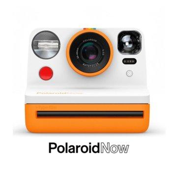 Фотоапарат Polaroid Now (оранжев), моментални снимки, светкавица, с батерия, auto-focus, USB image