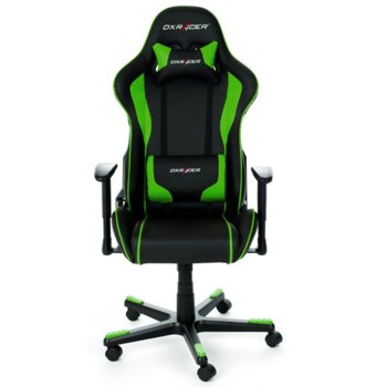 DXRacer F series chair - черен/зелен - OH/FE08/NE product