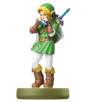Фигура Nintendo Amiibo - Link (The Legend of Zelda: Ocarina of Time], за Nintendo 3DS/2DS, Wii U, Switch image