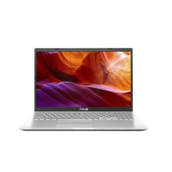"Лаптоп Asus X509JA-WB311 (90NB0QE1-M02490)(сребрист), двуядрен Ice Lake Intel Core i3-1005G1 1.2/3.4 GHz, 15.6"" (39.62 cm) Full HD Anti-Glare Display, (HDMI), 8GB DDR4, 256GB SSD, 1x USB 3.1 Type-C, No OS image"