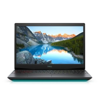 "Лаптоп Dell G5 15 5500 (5397184444030), шестядрен Comet Lake Intel Core i7-10750H 2.6/5.0 GHz, 15.6"" (39.62 cm) Full HD WVA 120Hz Display & GTX 1660 Ti 6GB, (mDP), 16GB DDR4, 512GB SSD, 1x Thunderbolt 3, Windows 10 Home image"