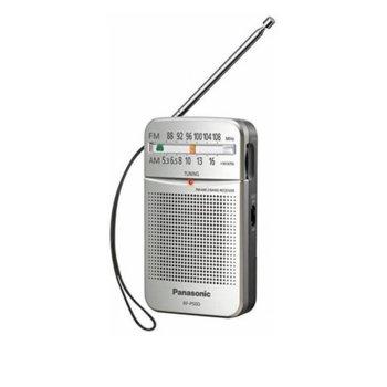Радио Panasonic RF-P50DEG-S, портативно, FM/MW, сиво image