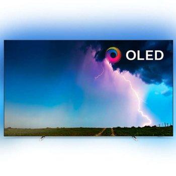 """Телевизор Philips 55OLED754/12, 55"""" (139.7 cm) 4K/UHD OLED Smart TV, LAN, Wi-Fi, DVB-T/DVB-T2/DVB-C/DVB-S/DVB-S2, 4x HDMI, 2x USB image"""
