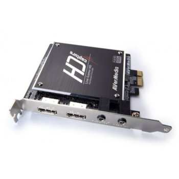 Гейминг кепчър и контролер, AVerMedia Live Gamer HD, PCI-E, HDMI image