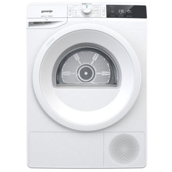 Сушилня Gorenje Gorenje DE82/G 730015, 8kg, 16 програми, свободностояща, с термопомпа, 60 см, LED дисплей, бяла  image
