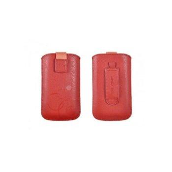 """Калъф тип """"джоб"""" Telone Deko 1, Pouch Size 16, с лента за издърпване, червен image"""