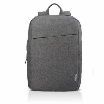 """Раница за лаптоп Lenovo Backpack B210 Gray, до 15.6"""" (39.62cm), водоустойчива, сива image"""